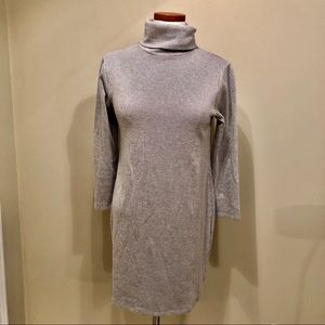 Urban Outfitters Gray Turtleneck Dress Size M